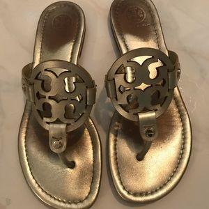 Tory Burch Miller Sandals - Size 7
